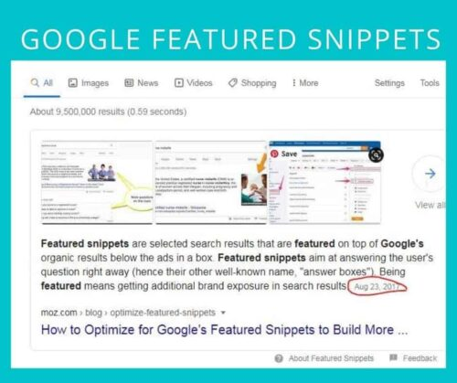 How to Get Google Featured Snippet