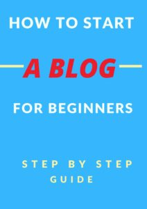 How To Start A Blog for bloggers