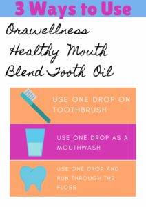 OraWellness Healthy Mouth Blend Tooth Oil
