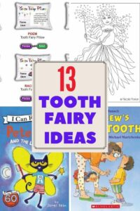 Tooth Fairy Ideas for kids
