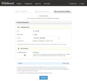 How To Set up Your Website with SiteGround