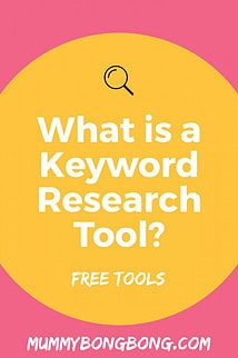 What is keyword Research Tool